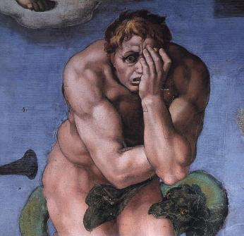 Michelangelo,_Giudizio_Universale_25