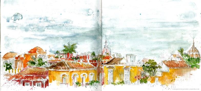 Cartagena de los Indias pano