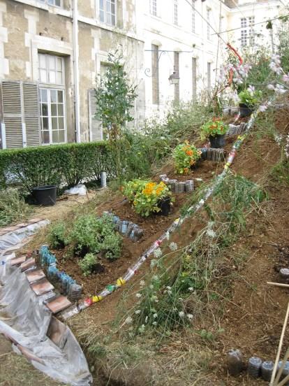 Jardin eau recyclage
