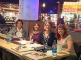 Janet Fagal, Meghan Nuttall Sayres, Claire Rudolf Murphy, and me at Project Pie