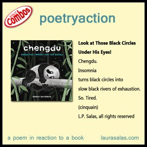 poetryaction to Chengdu Could Not, Would Not Fall Asleep