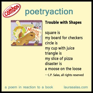 poetryaction for Circle, Square, Moose