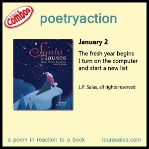 poetryaction and bookalikes for Santa Clauses