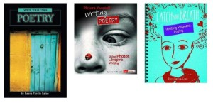 Laura's books on how to write poetry, poetry books for kids