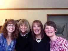 Laura Purdie Salas, Tunie Munson-Benson, Tracy Nelson Maurer, and Joyce Sidman
