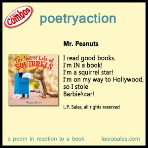Poetryaction for The Secret Life of Squirrels