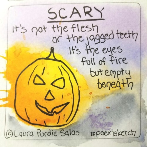 Scary #poemsketch
