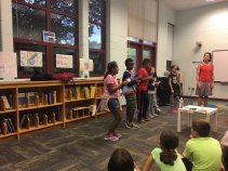 Belvedere Elementary Visit with Sara Lewis Holmes