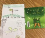 First graders and A Leaf Can Be...