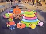 Chalk Art Toys