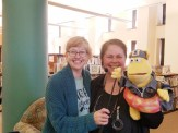 Kim Faurot is just the most wonderful librarian. I wish every kid had the chance to go to her storytimes and puppet shows.
