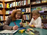 laura purdie salas signing lion of the sky