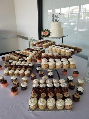 Wedding Cake Cupcake Servings