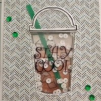 Drink Up! Iced Coffee Shaker Card for the Coffee Lovers 2018 Spring & Summer Blog Hop!