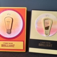 A Designing Journey to Brilliant Lightbulb Cards with Watts of Power