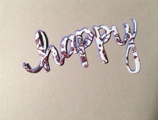 happy die-cuts