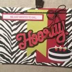 June 2018 Paper Pumpkin Broadway Star Alternative Card