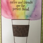 coffee cafe watercolor card