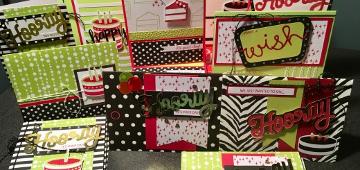 Paper Pumpkin June 2018 Broadway Star birthday congrats cards alternatives using scraps and leftovers