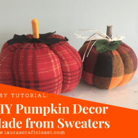 DIY Fall Decor Pumpkins from Old Sweaters: Hello Gourd-geous!