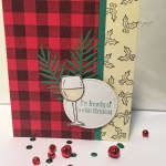 wine christmas card