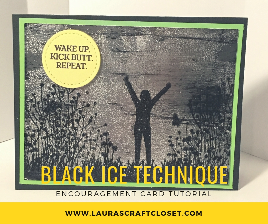 black ice technique card