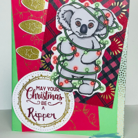Ripper Chrissy Koala Card - Merry Christmas, Mate!