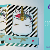Unicorn Cake Card for a day that sparkles!