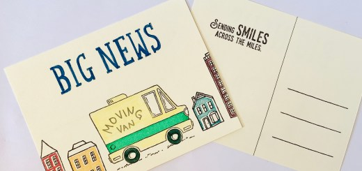 moving announcement postcards