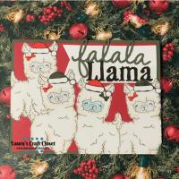 Falala Llama Card