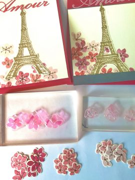 Eiffel Tower Valentines Stamping Tip