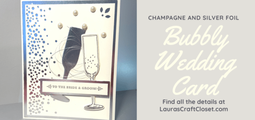 Bubbly Wedding Card Twitter