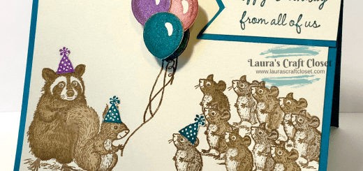 Forest critters birthday card