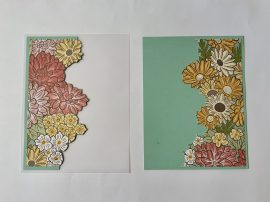 ornate garden vellum card cut flowers add to vellum