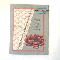 Diagonal DSP Tasteful Touches Card