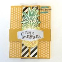 Double Flap Gatefold Card - June Paper Pumpkin Alternative