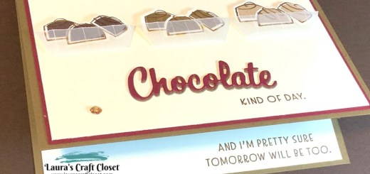 Chocolate truffle kind of day card nothing's better than chocolate stamp set