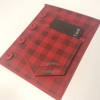 Flannel Shirt Gift Card Holder