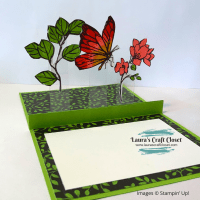 Flying Butterfly Pop Up Card