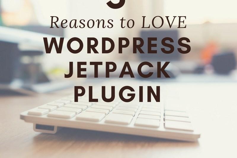5 reasons to love the WordPress Jetpack plugin.