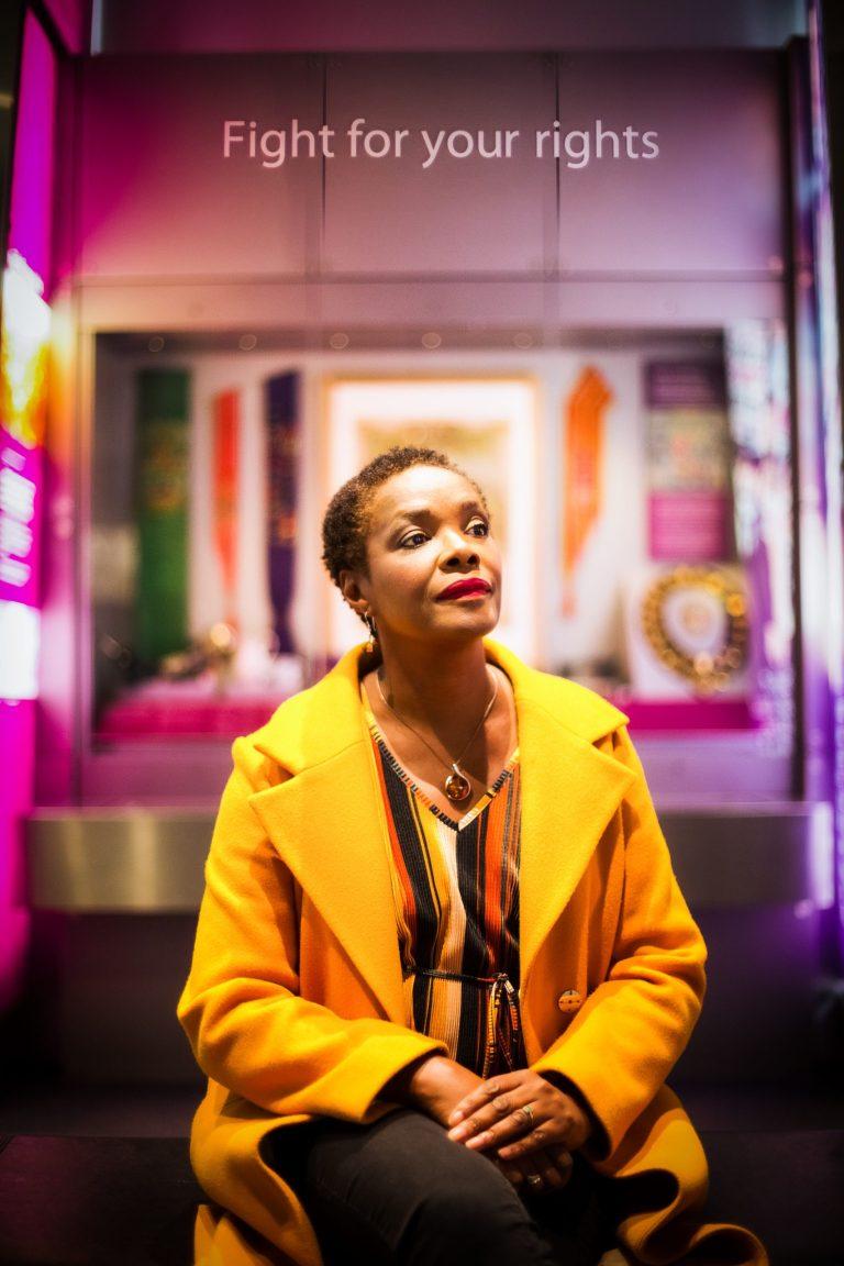 Professor Laura Serrant OBE Fight for you rights 2