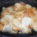 Gluten free Homemade Potato Crisps