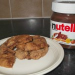 Gluten free Nutella Chocolate Chip Cookies