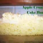 Gluten free Apple Crumble Cake Bars