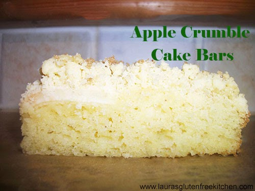 apple crumble cake bars