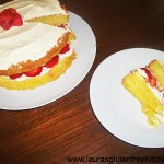 Gluten Free Strawberry and Cream Sponge Cake