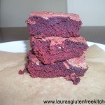 Gluten free Red Velvet Chocolate-Swirled Brownies