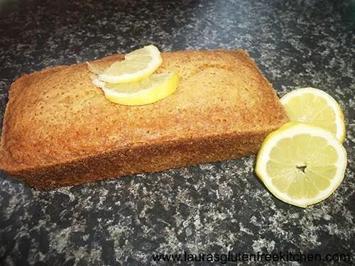 Gluten Free Lemon Madeira Cake