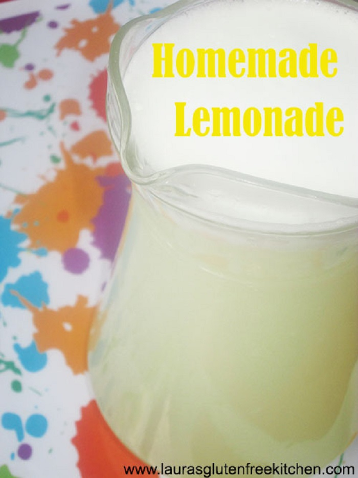 Delicious Homemade Lemonade