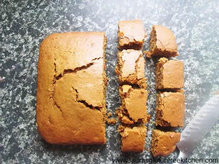 Gluten free Carrot Spice Cake